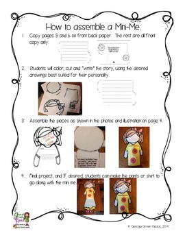 Mini Me: a Flipable Writing Activity for New Student Introductions