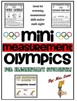 Mini Measurement Olympics