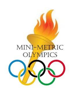 Mini-Metric Olympics measurement activity