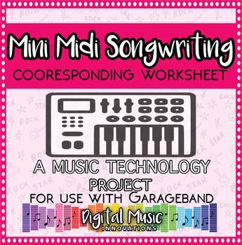 Mini Midi Songwriting Worksheet