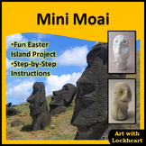 Mini Moai Easter Island Statues
