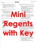 Mini Mock Living Environment Exam- Single Class Period Pra