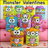 Mini Monsters Unique Valentine's Day Cards - A fun Craft and Gift