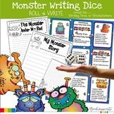 Monster Writing Starters   Writing Templates   Rubrics