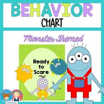 Mini Monster Behavior Chart