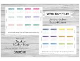 Mini Monthly Calendars for Teacher Planners - Erin Condren, Happy Planner, etc.