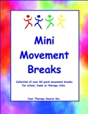 Mini Movement Breaks for the Classroom