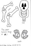 Mini Mr. Bones Craftivity