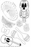 Mini Mr. Bones Dia De Los Muertos