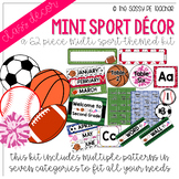Mini-Multi Sport Classroom Decor Pack