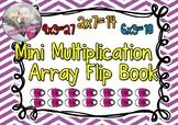Mini Multiplication Array Flip Book