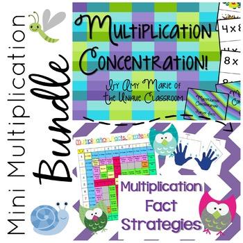 Mini Multiplication BUNDLE