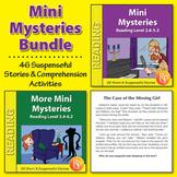 Mini Mysteries: Stories & Reading Comprehension Activities BUNDLE