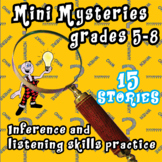 BRAIN TEASERS MYSTERY STORIES GRADES 5-8  Making inferences