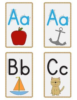 Mini Nautical ABC Cards
