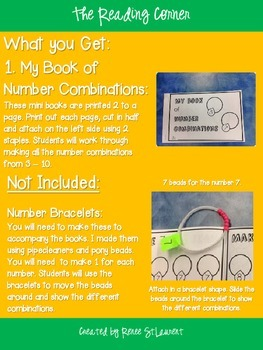 Mini Number Bracelet Book