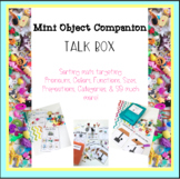 Mini Object Companion Sorting Sheets For Speech & Language Therapy