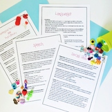 Handout: Using Mini Objects for Speech, Language, Literacy, and Social Skills