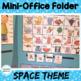 Mini Office Folder - Space Theme