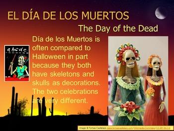Mini Ofrenda Diorama Foldable for Día de los Muertos (Day of the Dead)