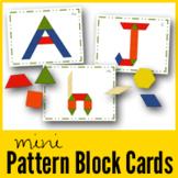 Mini Pattern Block Cards