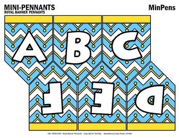 Mini Pennants (Min Pins)