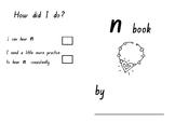 Phonics SATPIN Mini Book Nn