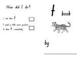 Phonics SATPIN Mini Book Tt