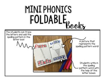 Mini Phonics Foldable Books BLENDS