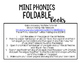 Mini Phonics Foldable Books FREEBIE