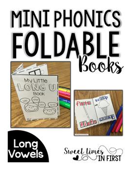Mini Phonics Foldable Books LONG VOWELS