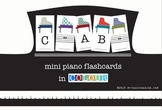 Mini Piano Flashcards