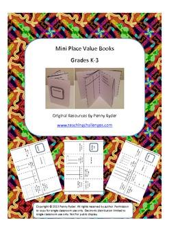 Mini Place Value Books
