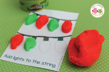 Mini Play Dough Mats   A Simple Christmas Gift for Students