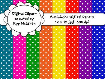 Mini Polka Dot Backgrounds