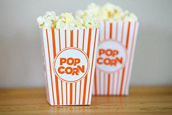 Mini Popcorn Box for Movie Day in the Classroom