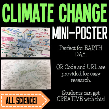 Mini-Poster: Climate Change (Based on Video Research w/ QR code)