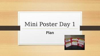 Mini Poster Inquiry Activity