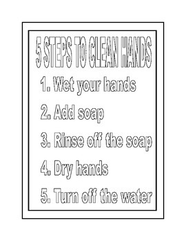 Mini Poster: Wash Your Hands!