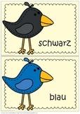Mini Posters German Colors