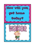 Mini Posters: How will you get home today?