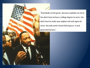 Mini Posters for MLK Day