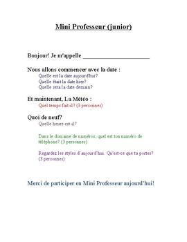 Mini Professeur-Script