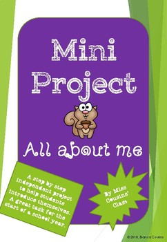 Mini Project All about me poster