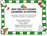 Mini Project-Based Learning Activities