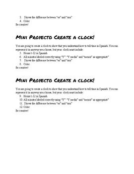 Mini Project Create a Clock!