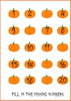 Mini Pumpkin Math Unit
