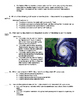 Mini Q \ DBQ Hurricanes Quiz and Answer Key