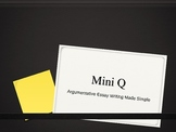 Mini Q Guided Instruction and Practice