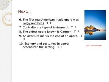 Mini Quiz-Opera